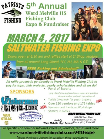 5Th Annual Ward Melville Saltwater Expo Event Flyer